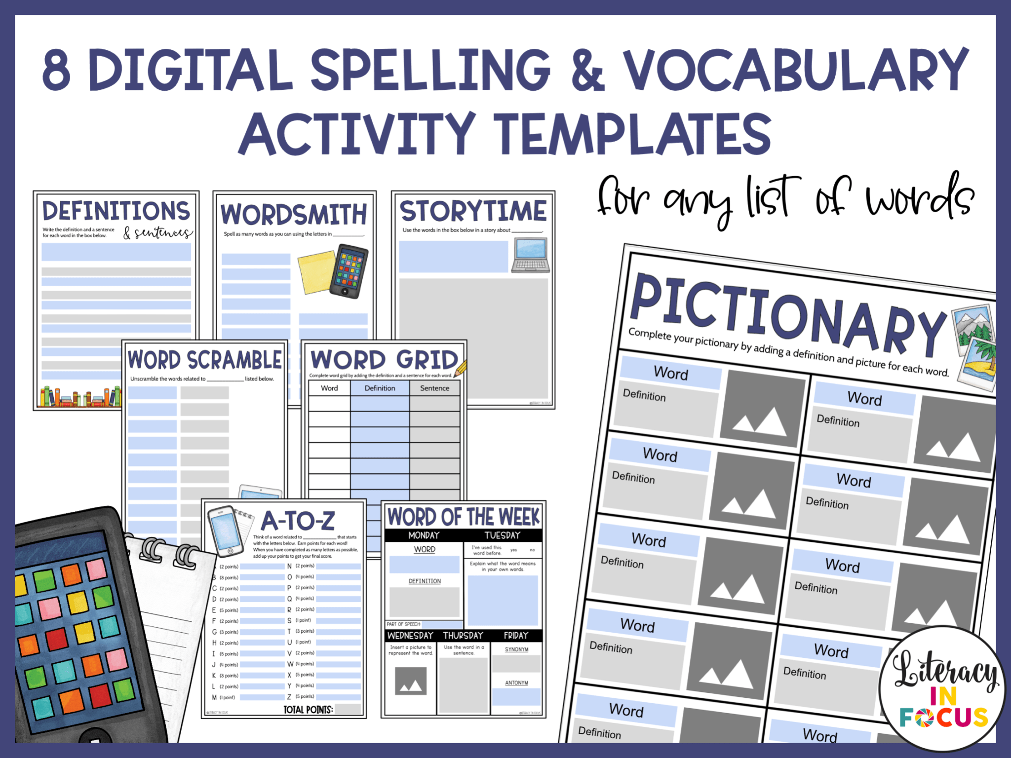 8 Versatile Activities For Weekly Spelling And Vocabulary