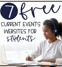 7 Free Current Events Websites for Students   Literacy In Focus [ 1265 x 1265 Pixel ]