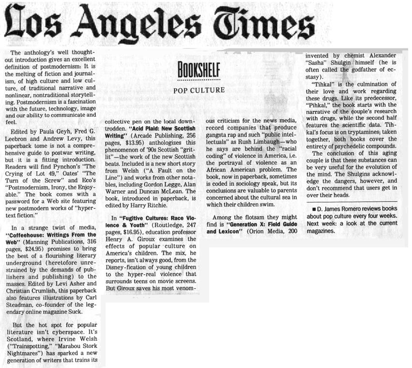 los angeles times support