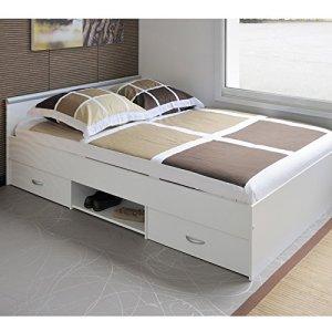 lit 140x190 blanc