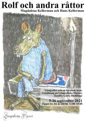 """Affisch """"Rolf och andra råttor"""""""