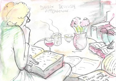Jose Barba London Literary Salon Illustration 4