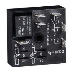 Dayton Timer Relay Wiring Diagram Phase Linear Uv8 Encapsulated Function Off Delay Status Indicator : 75 ...