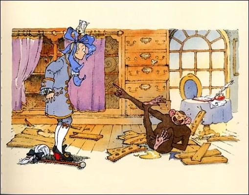 Le singe à Buffon, Gilles Bachelet