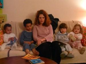 lecture enfants âge mélangé