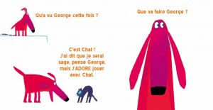 Oh non, George