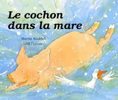 le cochon se baigne