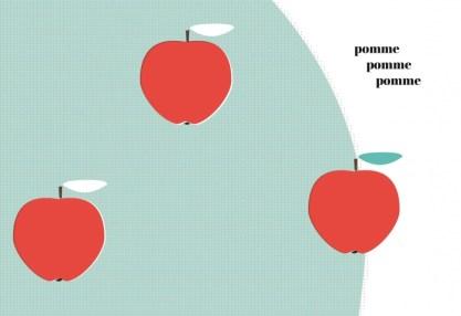 pomme, Corine Dreyfuss, éditions Thierry Magnier
