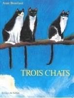 trois chats album sans texte
