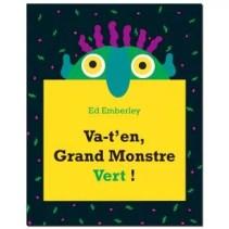 Va-t'en grand monstre vert, tout carton, Ed Emberley, Kaléidoscope