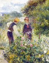 Auguste Renoir - La cueillette des fleurs