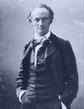 Charles Baudelaire (par Nadar, 1862) - blue