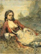 Jean-Baptiste Camille Corot - Algérienne