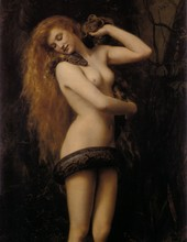 Lilith par John Collier 1887