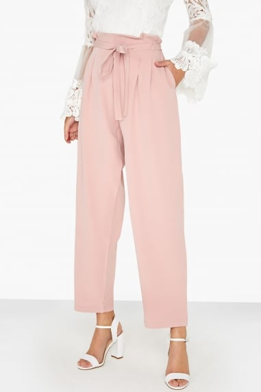 Pink Tapered Trouser