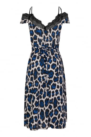 Lace Leopard Dress