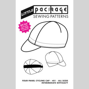 4-Panel Cycling Cap PDF Sewing Pattern