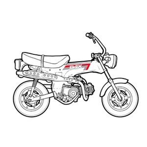 HONDA DAX 6V 1982/1989