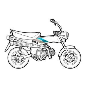 HONDA DAX 12V 1990/1996