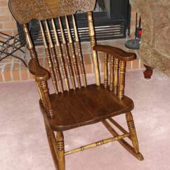 Antique Wooden Rocking Chairs Pine Kitchen Littleworkshop Services Page