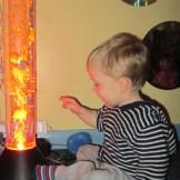 BABIES - exploring in the Sensory Room