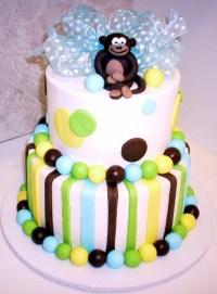 Monkey Cakes  Decoration Ideas | Little Birthday Cakes