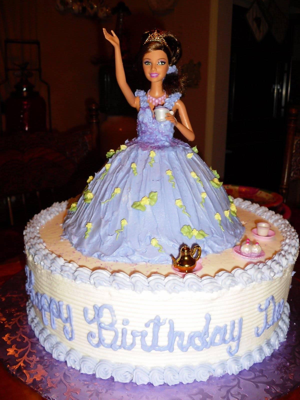 Barbie Cakes Decoration Ideas