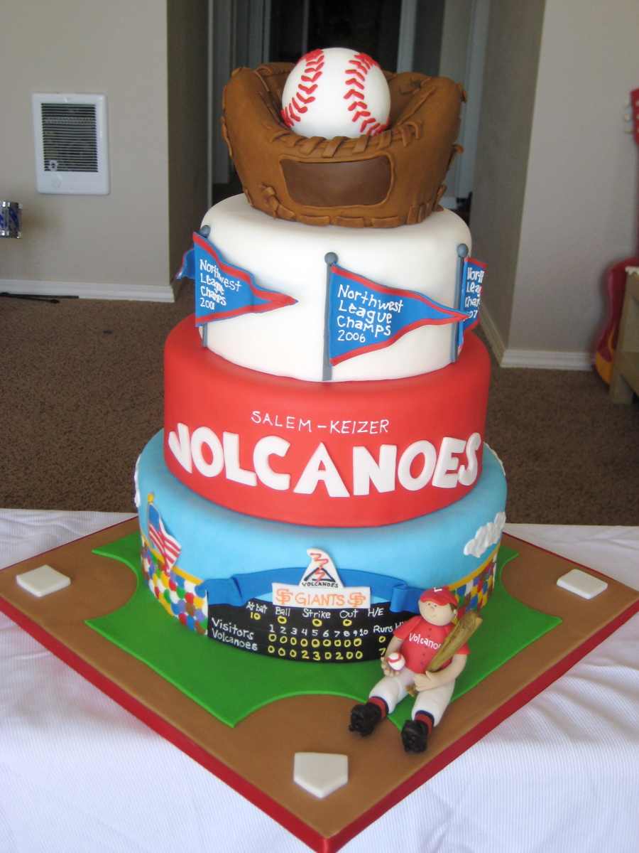 Baseball Themed Cakes The Best Cake Of 2018