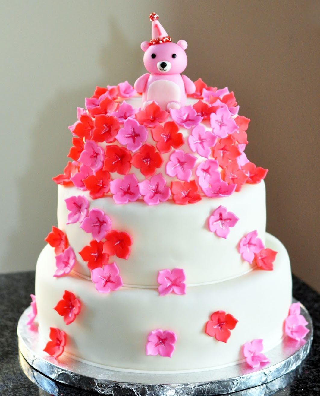 Flower Cakes Decoration Ideas