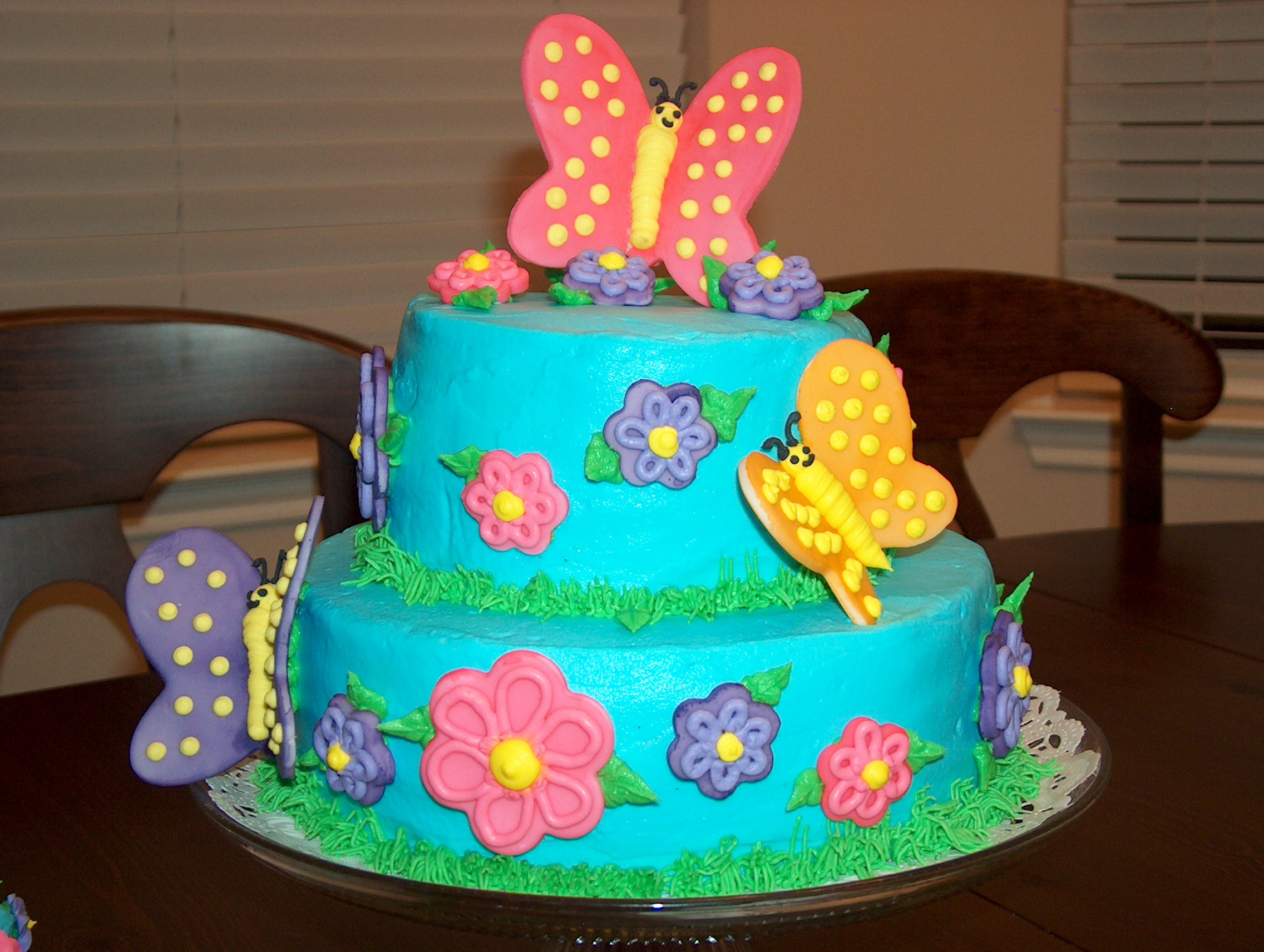 Butterfly Cakes Decoration Ideas
