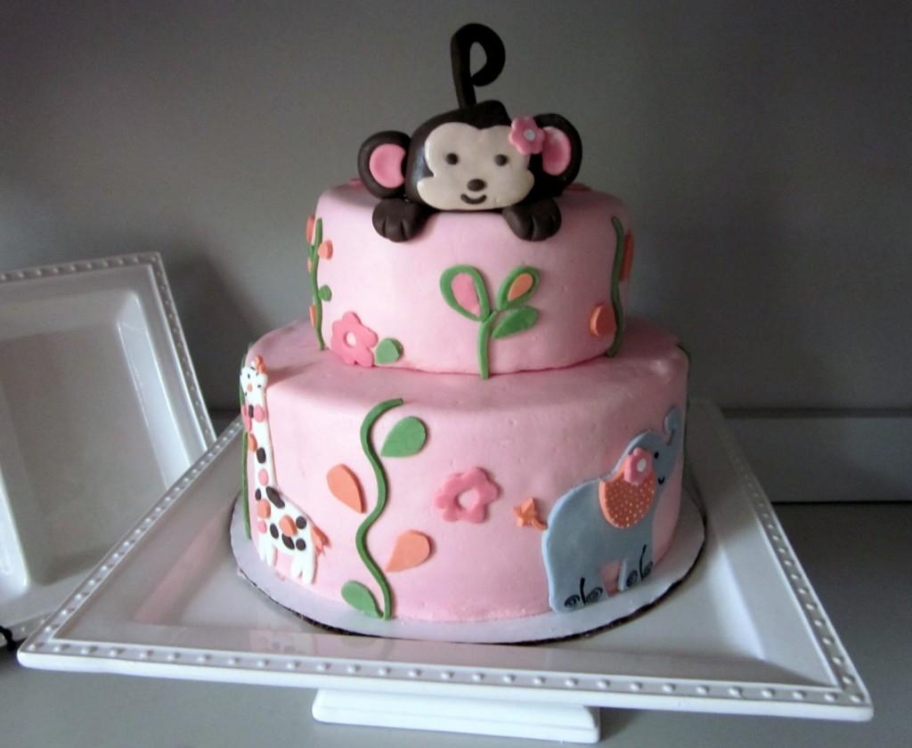 Monkey Cakes Decoration Ideas