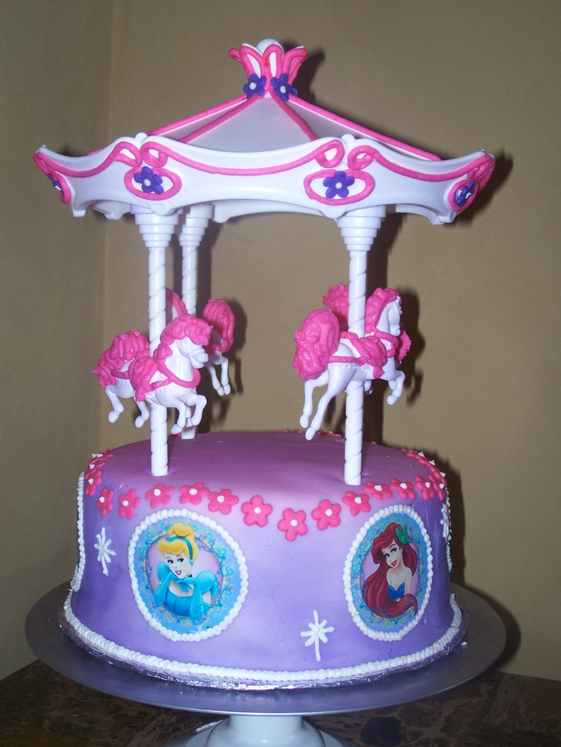 Carousel Cakes  Decoration Ideas  Little Birthday Cakes