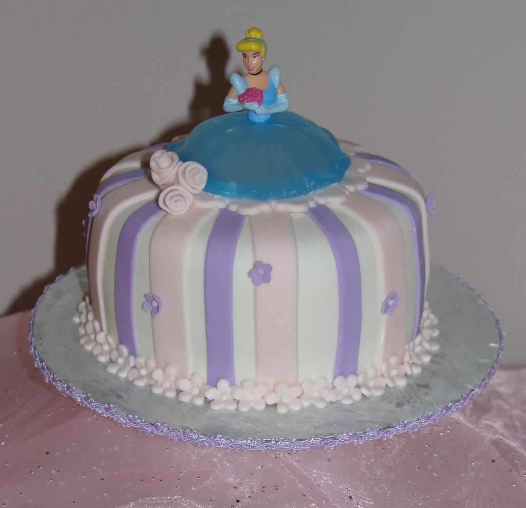Disney Cinderella Birthday Cakes