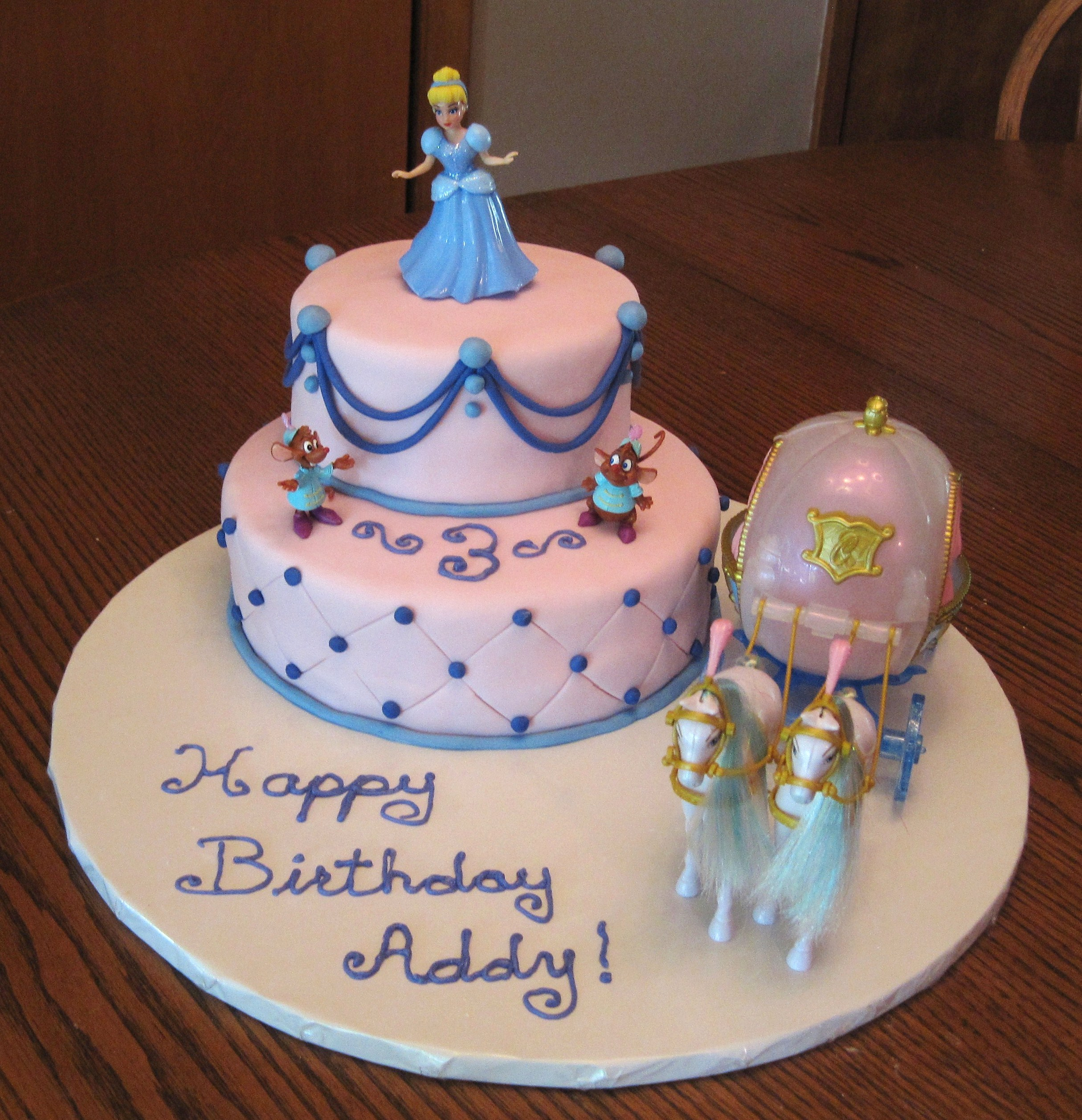 Cinderella Themed Cakes