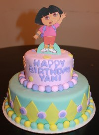 Dora Cakes  Decoration Ideas | Little Birthday Cakes
