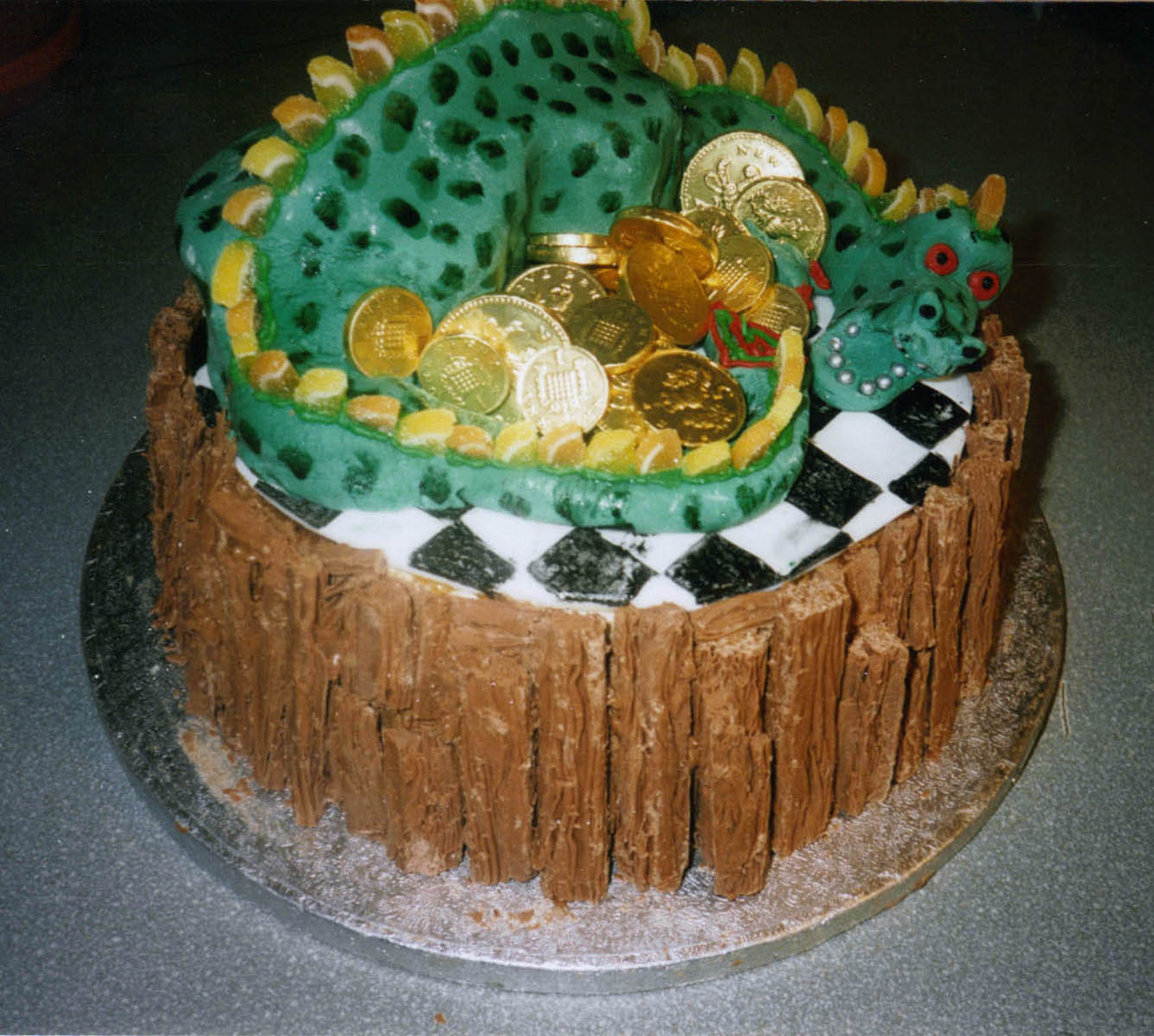Dragon Cakes Decoration Ideas