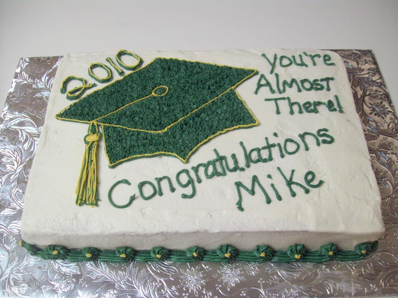Graduation Cakes Decoration Ideas