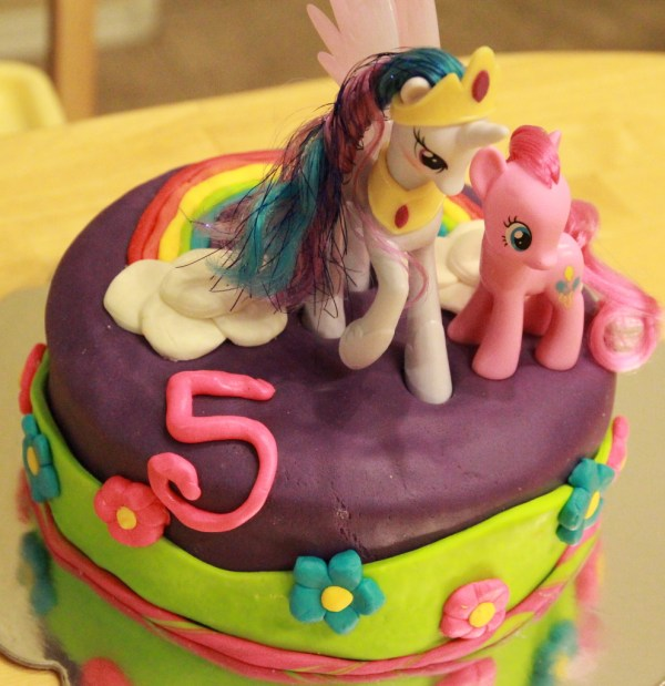 Little Pony Cakes Decoration Ideas Birthday