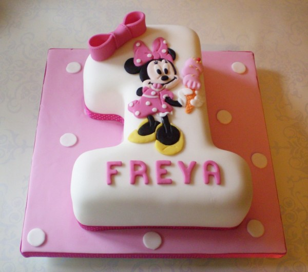 Minnie Mouse Cakes Decoration Ideas Little Birthday