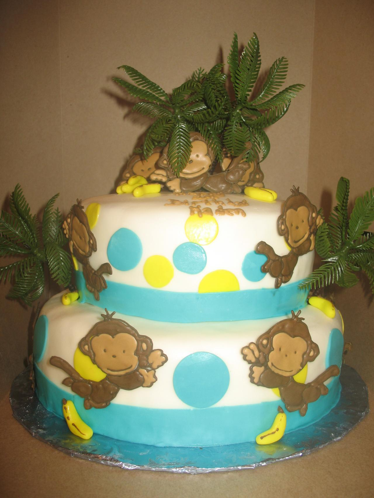 Monkey Cakes Decoration Ideas