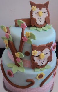 Owl Cakes  Decoration Ideas