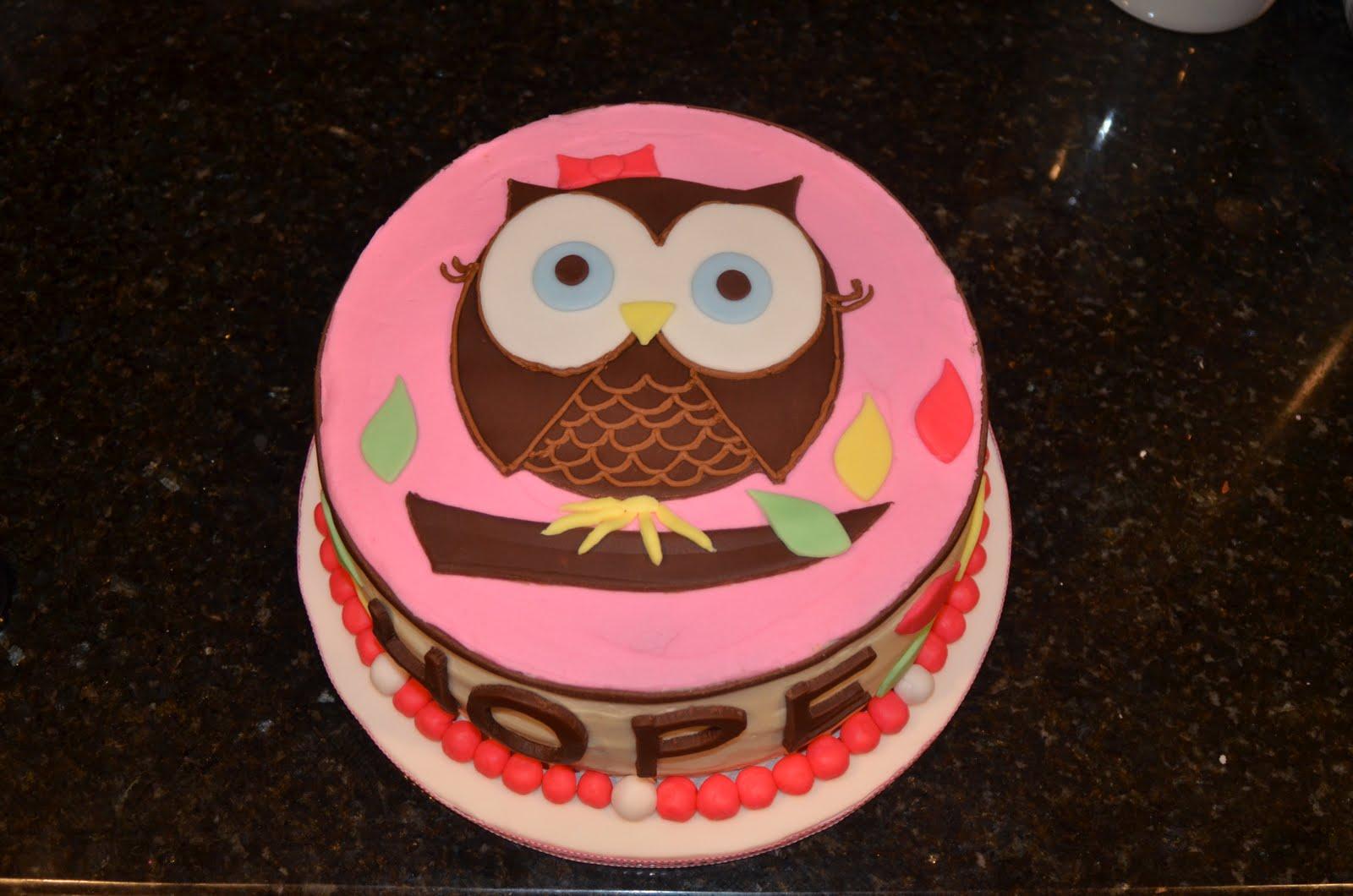 Owl Cakes Decoration Ideas