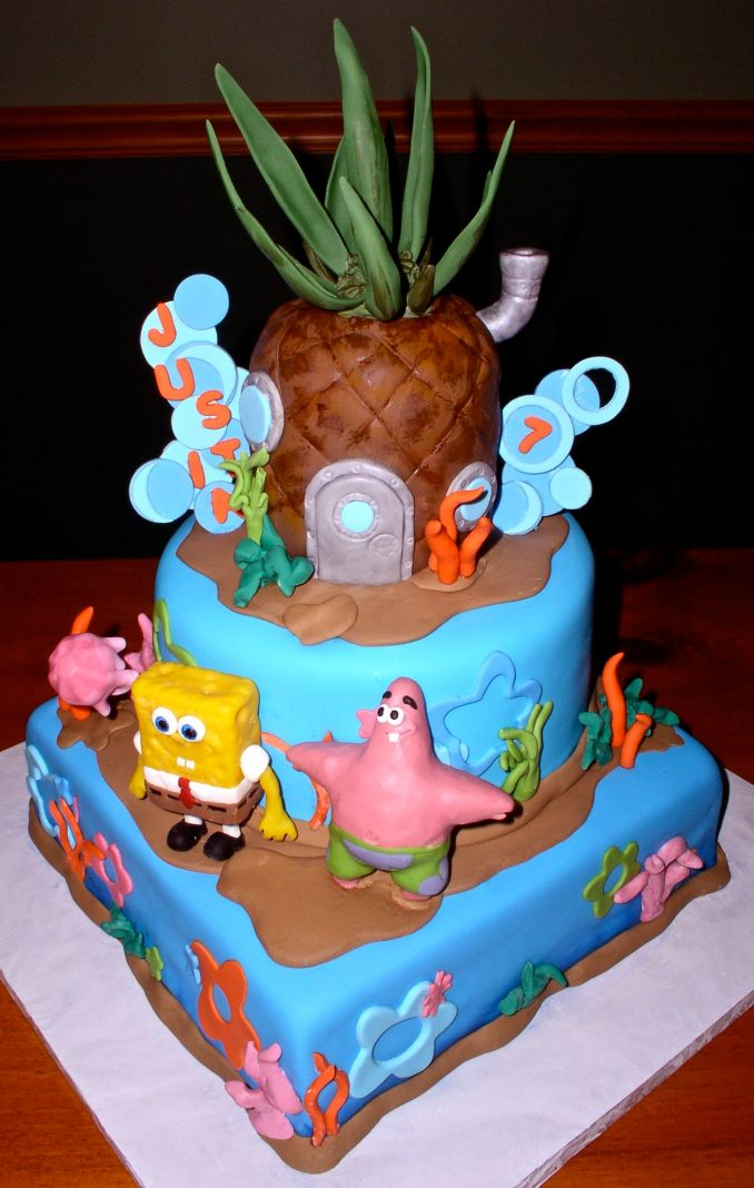 Spongebob Cakes – Decoration Ideas | Little Birthday Cakes