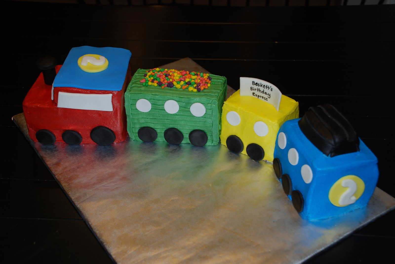 Train Cakes Decoration Ideas