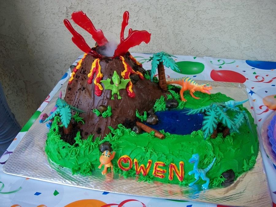 Volcano Cakes  Decoration Ideas  Little Birthday Cakes