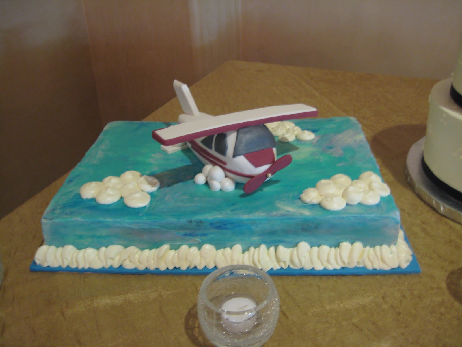 Airplane Cakes Decoration Ideas