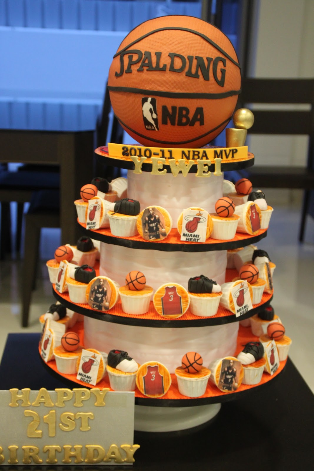 Basketball Cakes Decoration Ideas