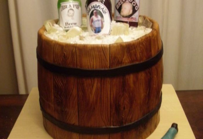 Beer Bottle Cakes Decoration Ideas Little Birthday Cakes