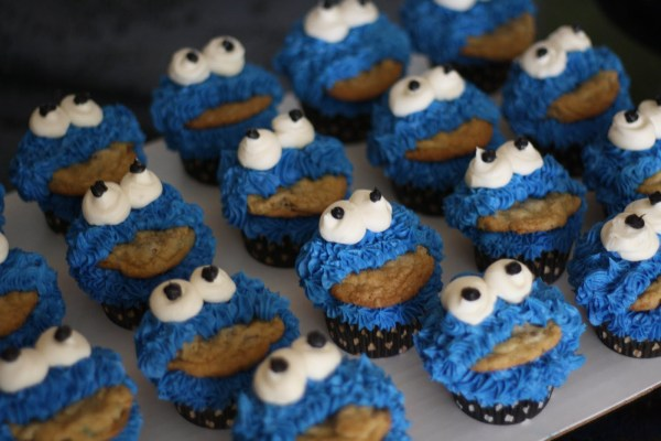 Cookie Monster Cakes Decoration Ideas Little Birthday