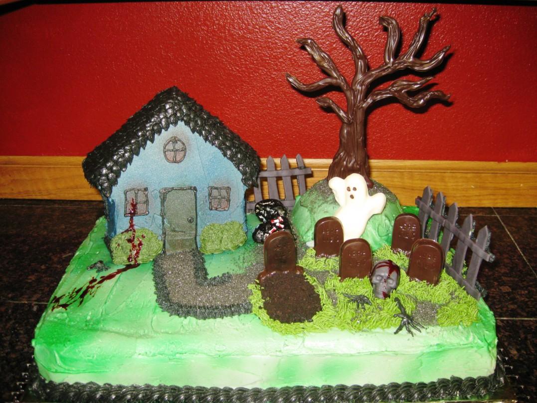 Haunted House Cakes  Decoration Ideas  Little Birthday Cakes